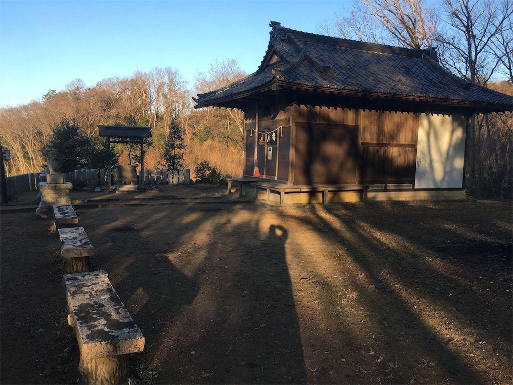 大澄山(だいちょうざん)にある草花神社の境内