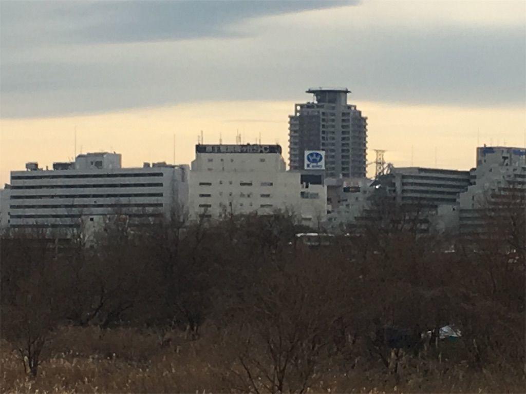 京王線の聖蹟桜ヶ丘駅周辺。