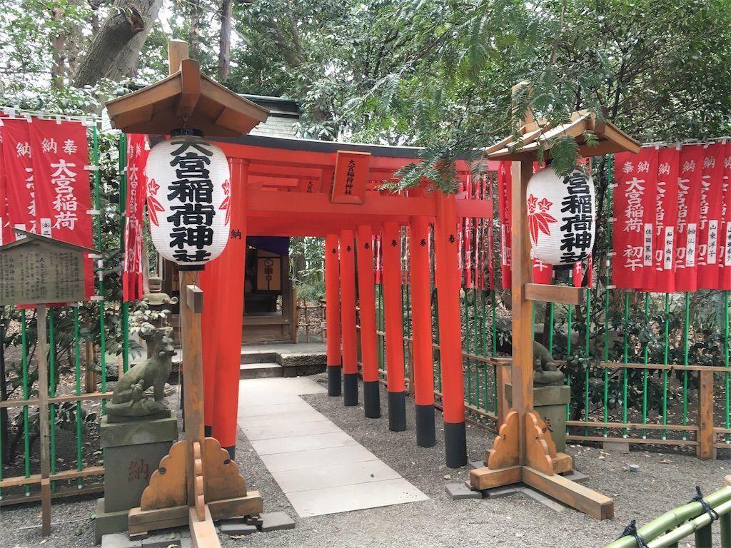 「小さなおじさん(妖精)」の目撃情報がある稲荷神社。