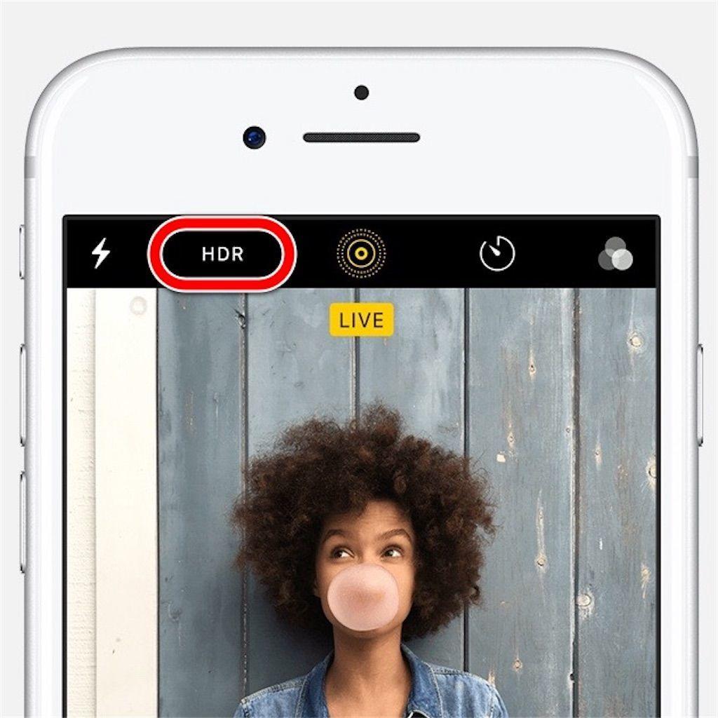 iPhoneカメラを上手に活用するための「HDR」