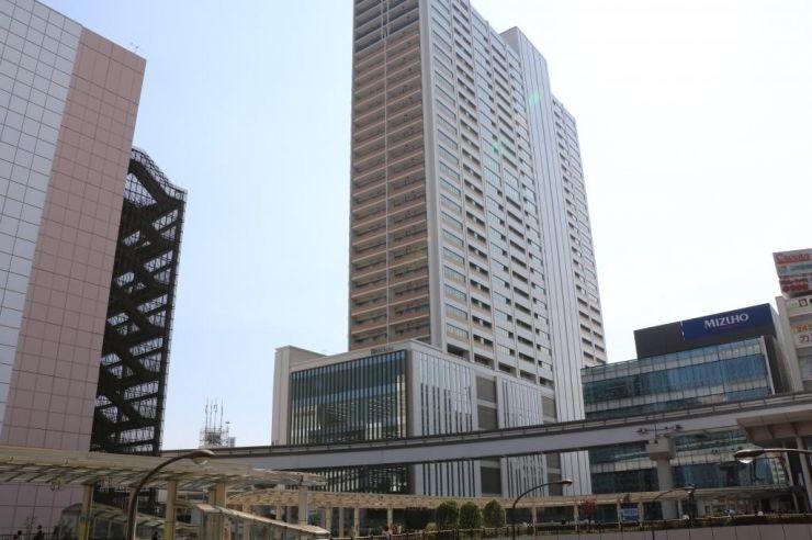 「立川タクロス」の2階(立川駅北口西地区有料自転車駐車場)