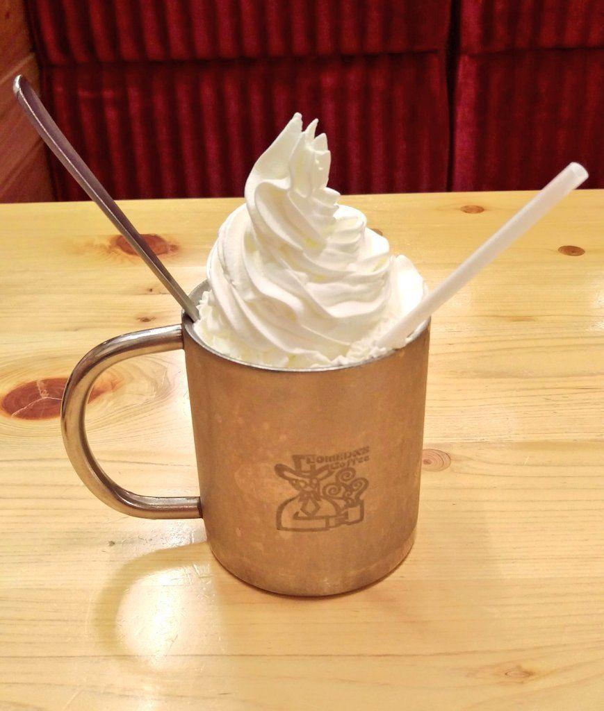 コメダ珈琲店のアイスウインナーコーヒー