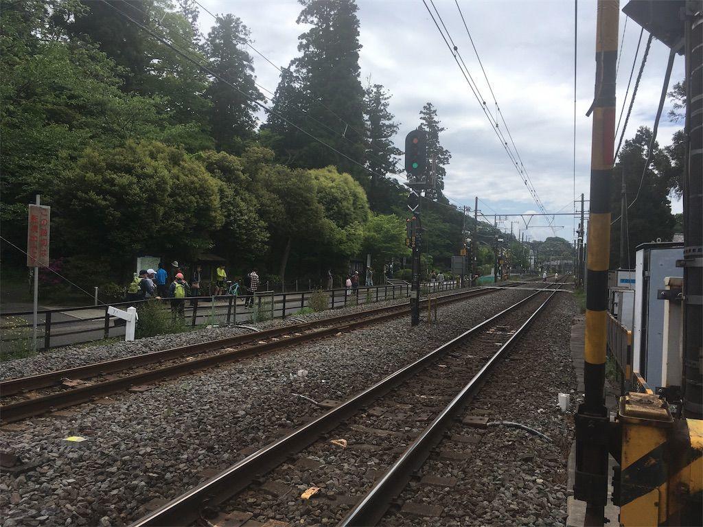 「北鎌倉駅」で下車する。