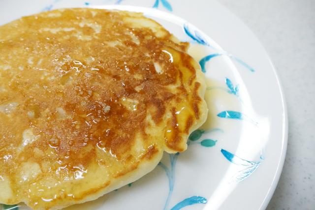 Eggs'n Thingsのパンケーキが焼けたー!