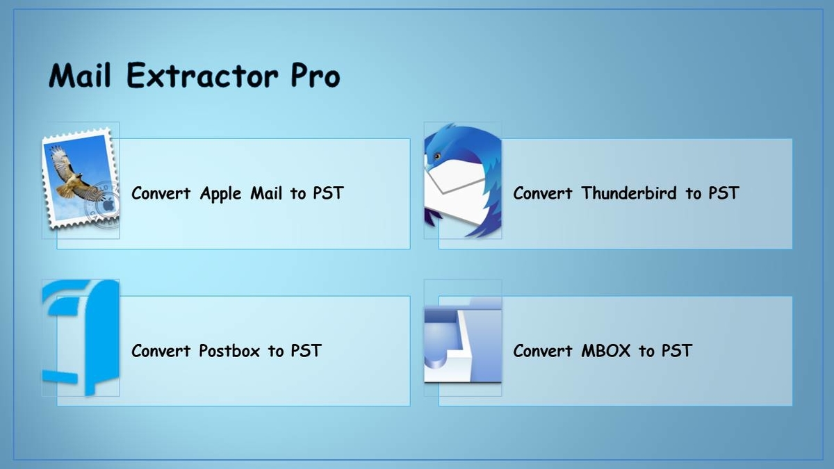 migrate apple mail to pst