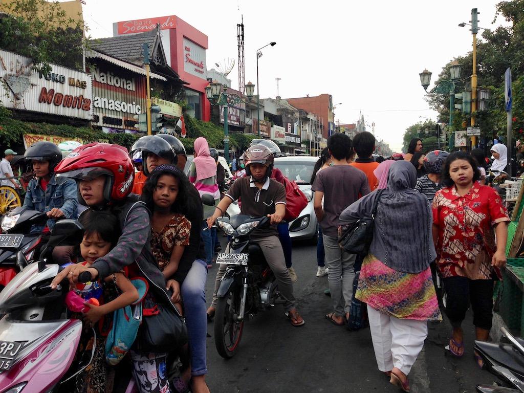 インドネシア郊外