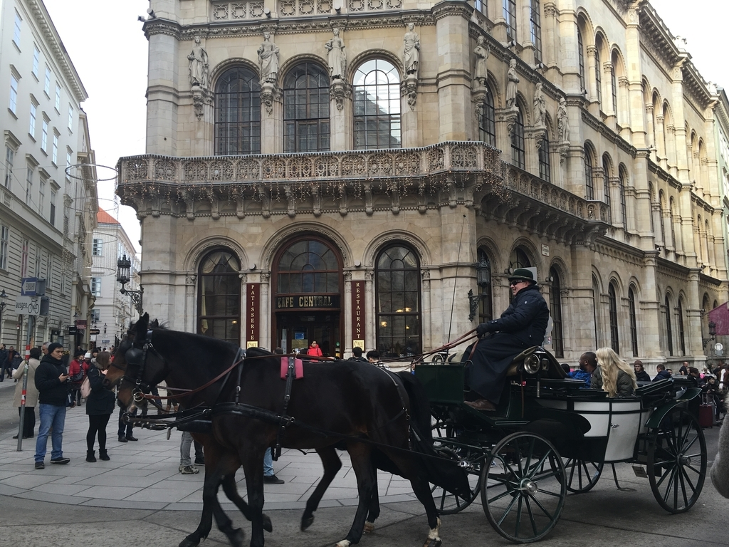 オーストリアのウィーンの風景