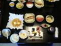 湯の山温泉 朝食(部屋食)