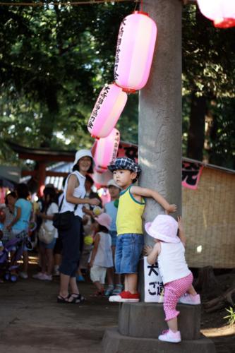 裏神社祭り
