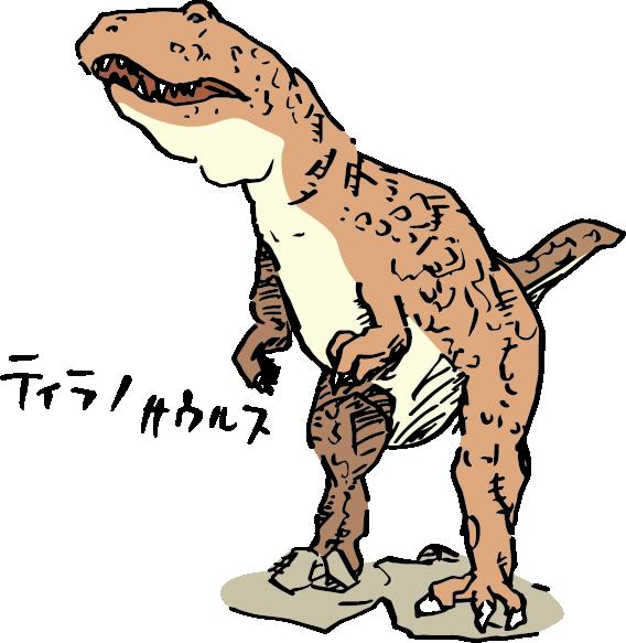 ティラノサウルス(T-レックス)
