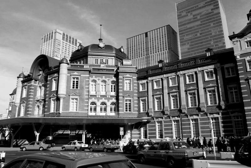 「Tokyo Station」  RICOH GR DIGITAL Ⅲ