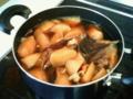 大根と牛筋の煮物