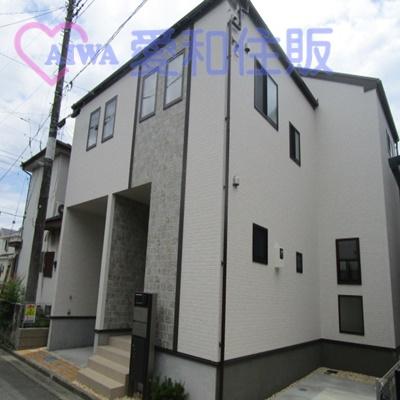 鶴ヶ島市脚折新築一戸建て建売分譲住宅の外観写真