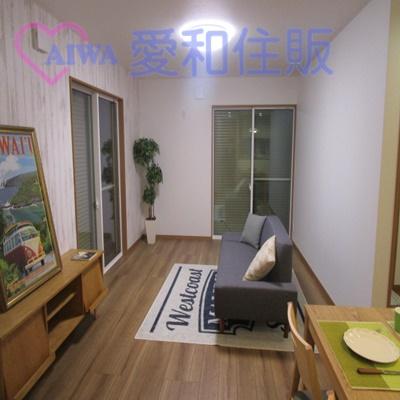 鶴ヶ島市鶴ヶ丘新築一戸建て建売分譲物件のリビングルーム