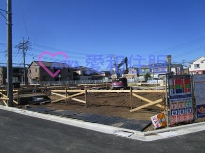 川越市小仙波町2丁目新築一戸建て建売分譲住宅の現況写真