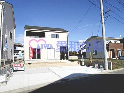東松山市市ノ川第8新築一戸建て建売物件の外観