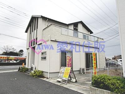 東松山市上野本新築一戸建て建売物件(6号棟)の外観写真