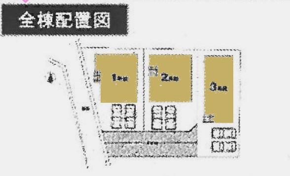 東松山市毛塚2期の区画図