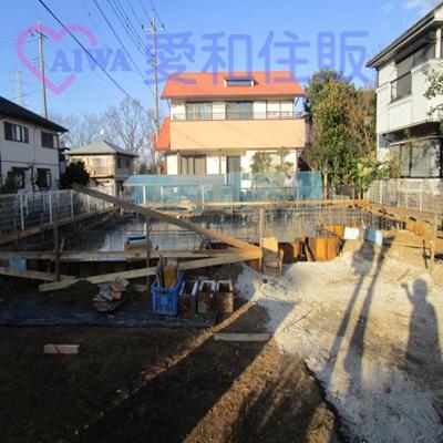 東松山市桜山台の新築戸建て建売分譲物件の現況