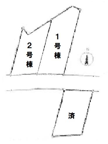 東松山市市ノ川第8新築一戸建て建売物件の間取り図