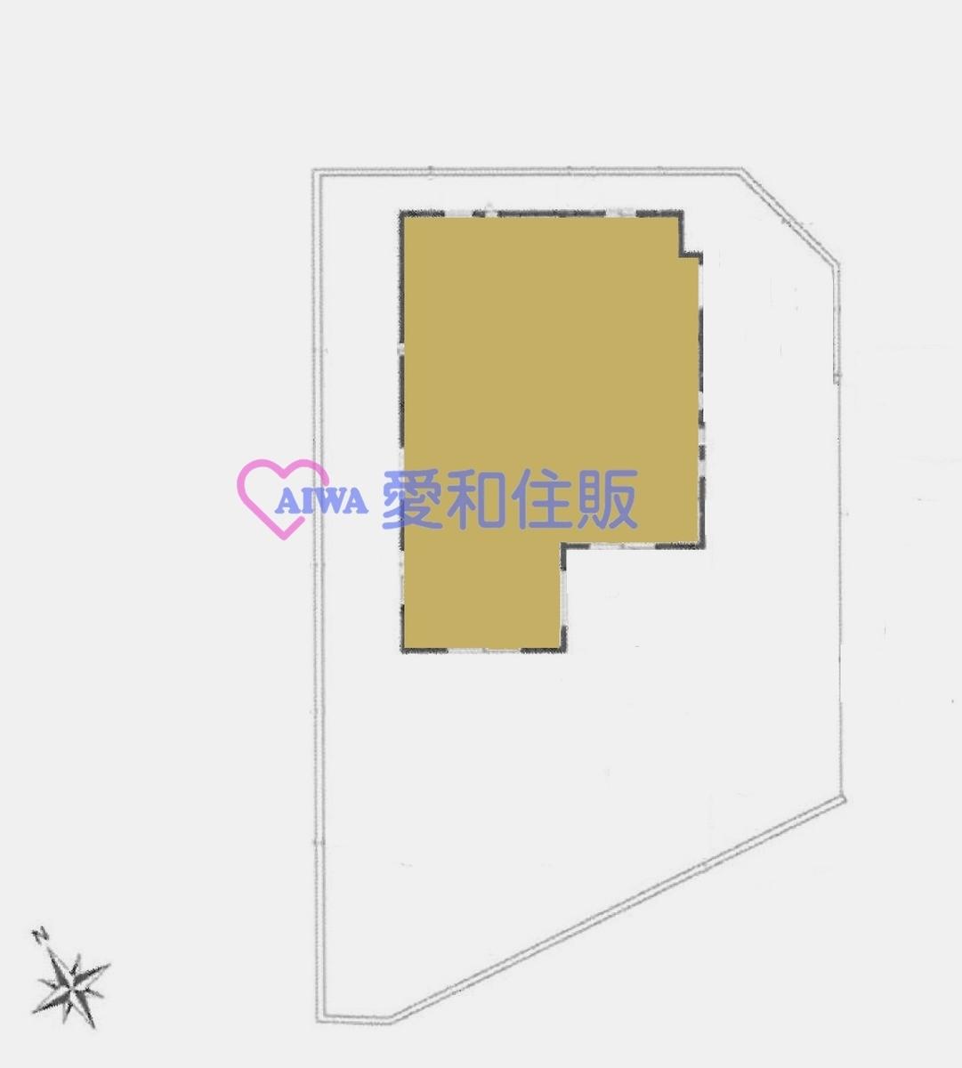 鶴ヶ島市五味ケ谷新築一戸建て建売物件の区画図