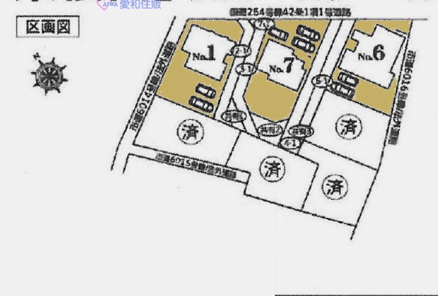 東松山市上野本新築一戸建て建売物件(6号棟)の区画図