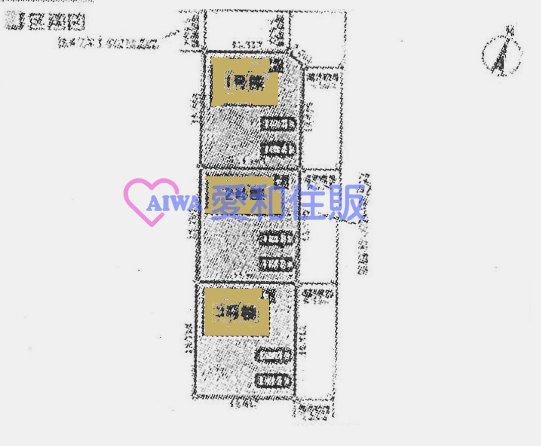 熊谷市樋春新築一戸建て建売物件の区画図
