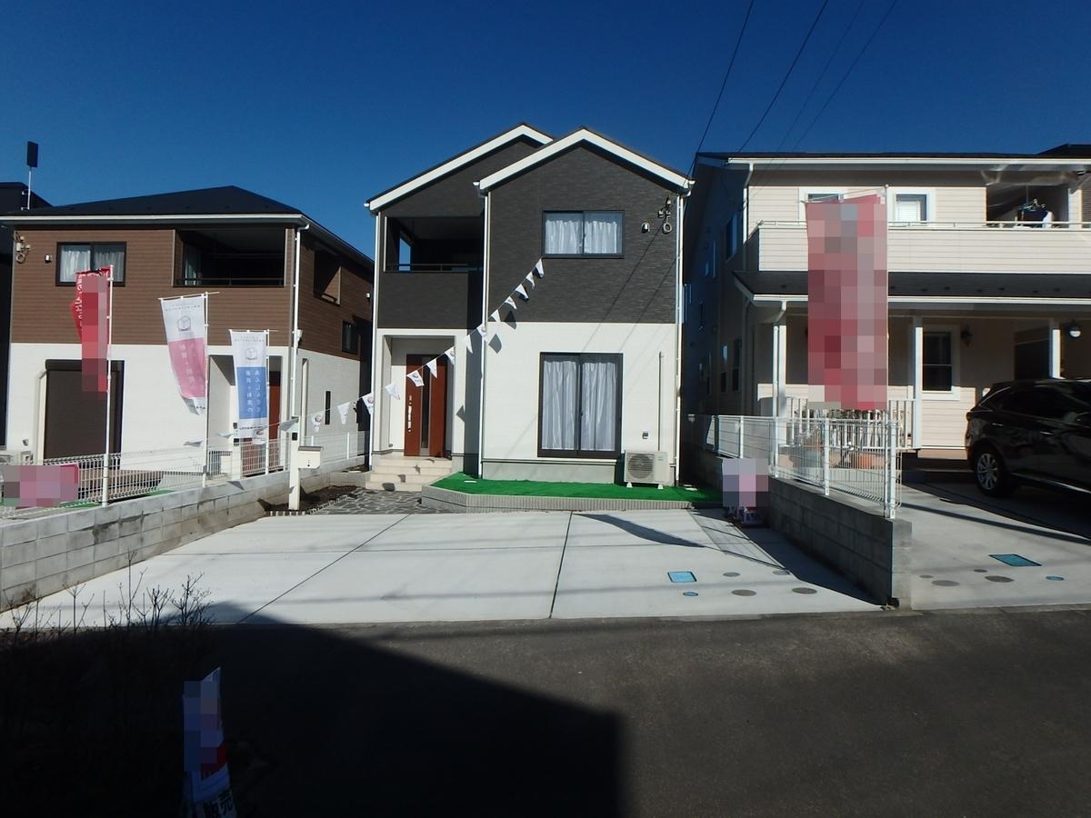 飯能市美杉台6丁目新築一戸建て建売住宅の外観写真