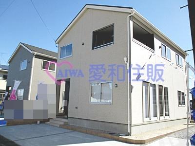 熊谷市久下3丁目新築一戸建て建売分譲住宅の外観写真