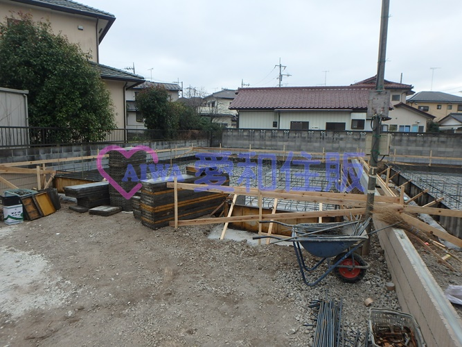 東松山市加美町新築一戸建て建売分譲住宅の現況写真