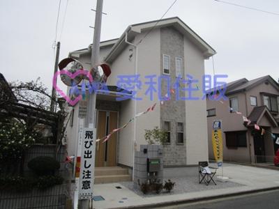 川越市下広谷新築一戸建て建売分譲住宅の外観写真