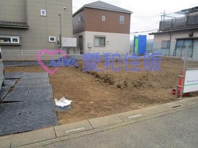 鶴ヶ島市藤金新築一戸建て建売分譲住宅の現況写真