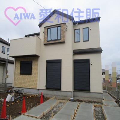 坂戸市鎌倉町新築一戸建て建売分譲住宅の外観写真
