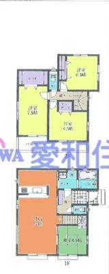東松山市松本町1丁目新築一戸建て建売分譲住宅の間取り図