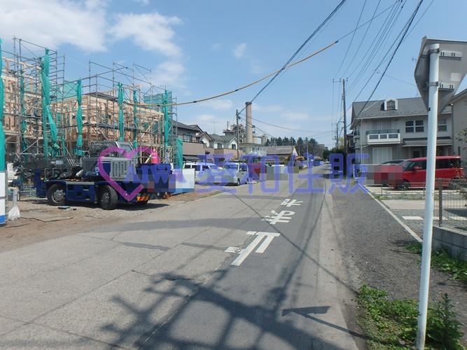 日高市南平沢新築一戸建て建売分譲住宅の現地画像