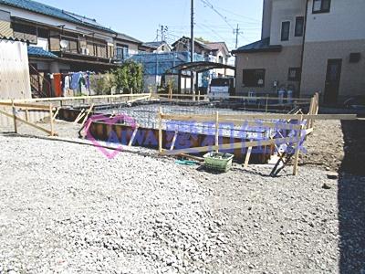 川越市藤倉新築一戸建て建売分譲住宅の現況写真
