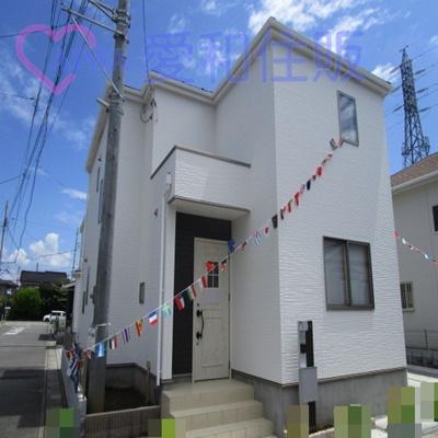 坂戸市石井新築一戸建て建売分譲住宅の外観写真