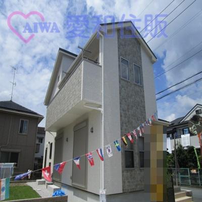東松山市六軒町新築一戸建て建売分譲住宅の外観写真