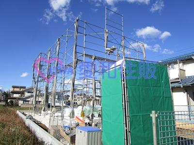川越市的場新築一戸建て建売分譲住宅の現況写真