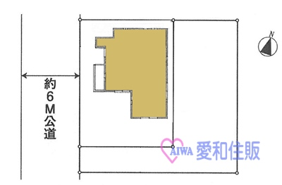 坂戸市片柳新築一戸建て建売分譲住宅の間取り図