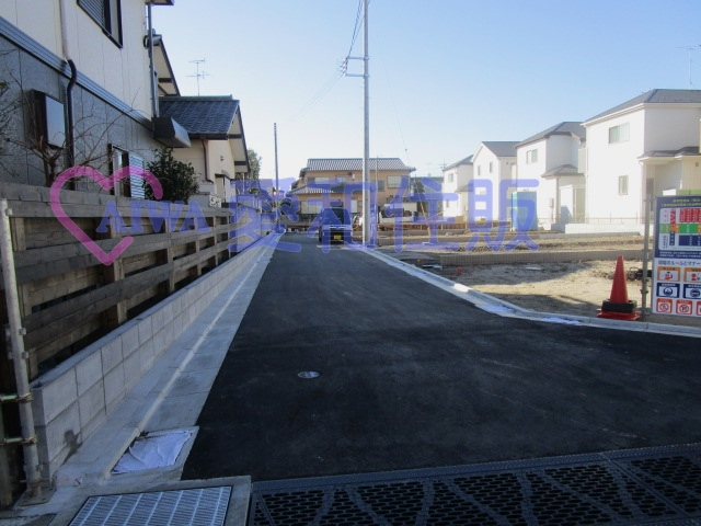 川越市石原町2丁目新築一戸建て建売分譲住宅の建築前の画像