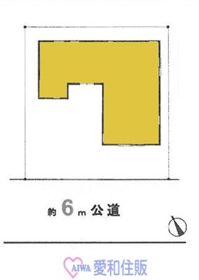坂戸市溝端町新築一戸建て建売分譲住宅の区画図
