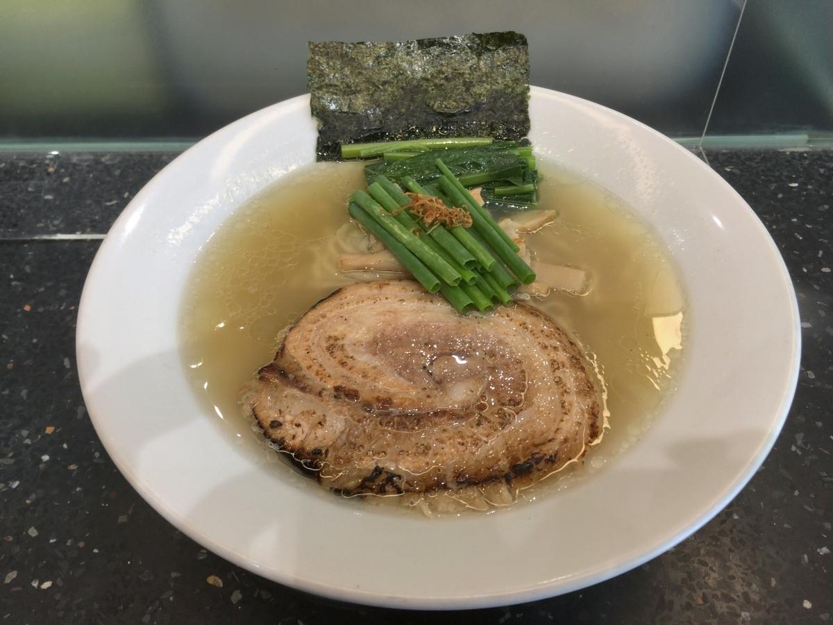 麺庄の塩ラーメン