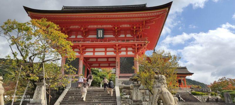 京都  清水寺任王門