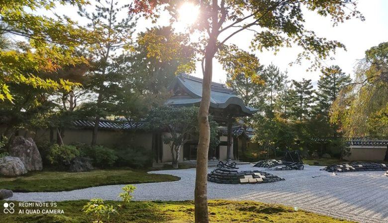 京都  高台寺波心庭