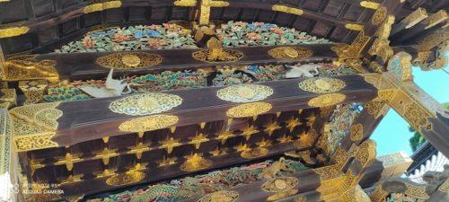 京都  二条城 唐門