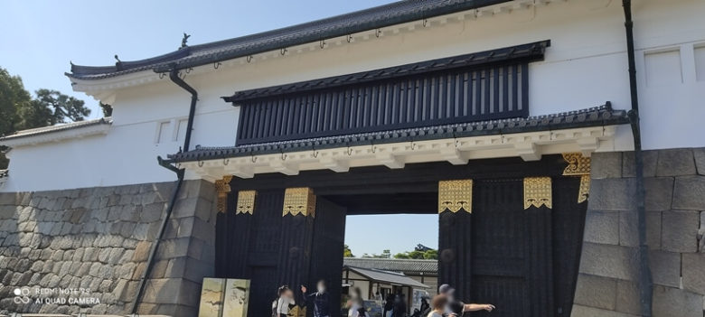 京都  二条城正面
