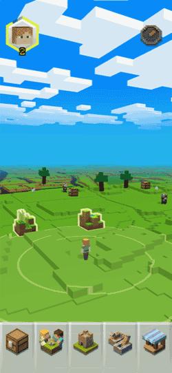minecraft Earthフィールドの画像