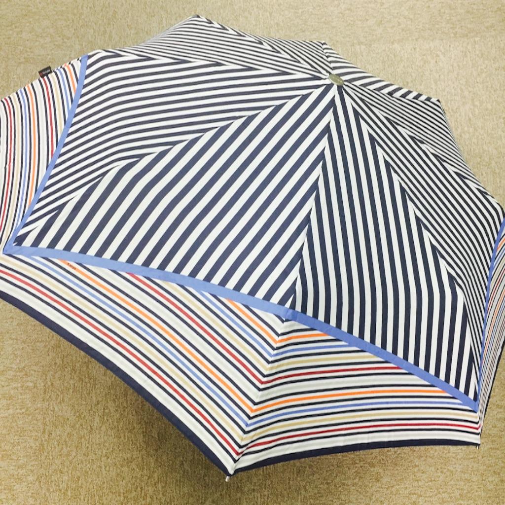 Knirps(クニルプス) 折り畳み傘 開いた時 写真