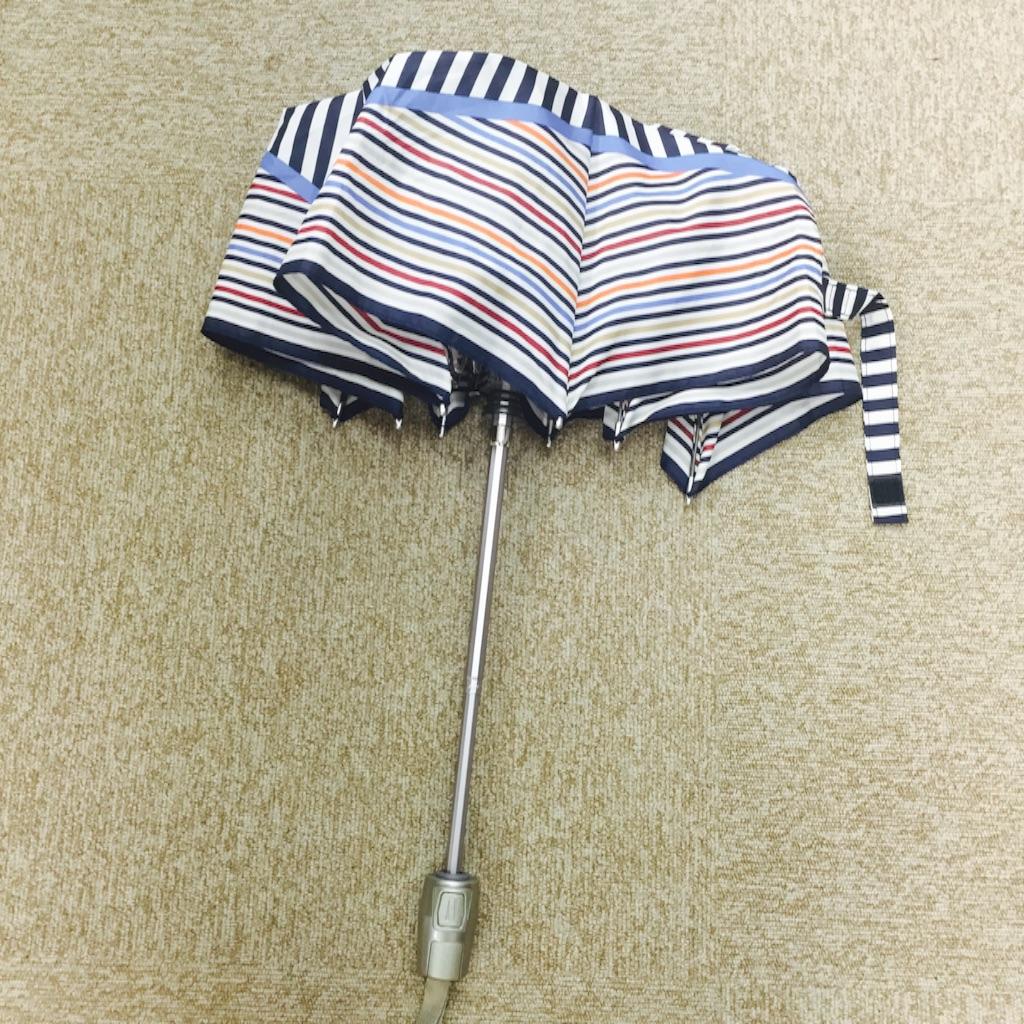 Knirps(クニルプス) 折り畳み傘 ボタンを押した時 写真
